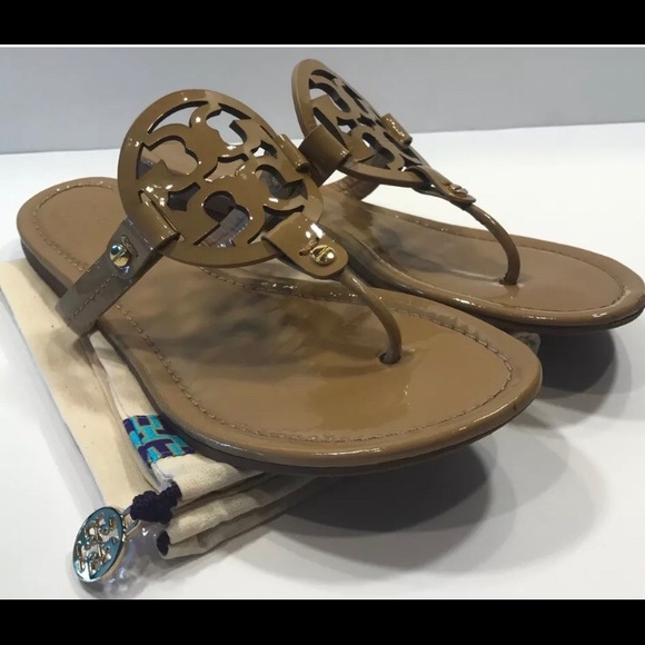 237bbb80bd84 Tory Burch Miller Sand Nude Patent Size 9. M 5af8c1e6077b97aa21d8112b